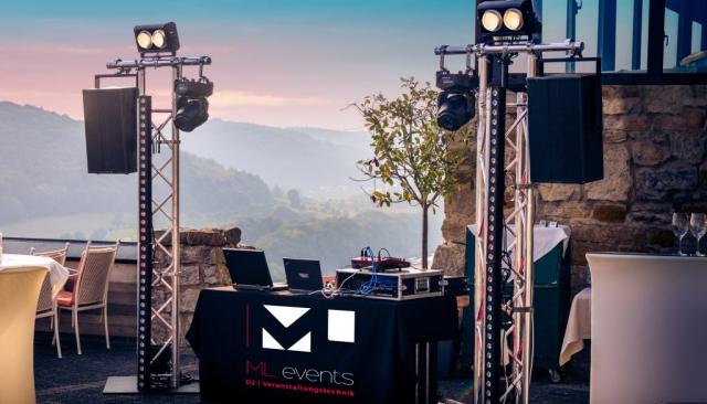 Hochzeit Burg Hornberg DJ Veranstaltungstechnik