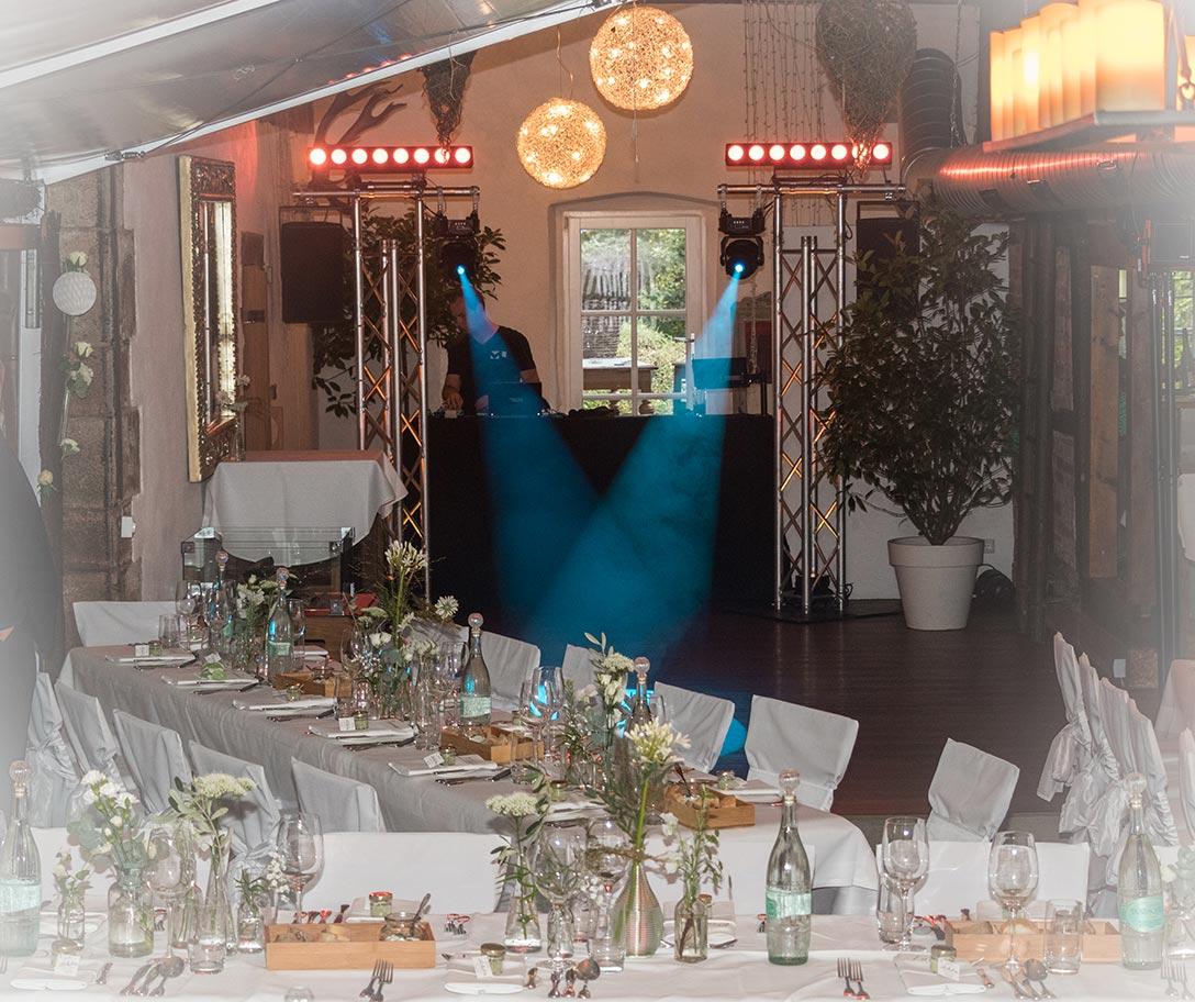 Hochzeits-DJ ML Events in der Heiderbacher Mühle