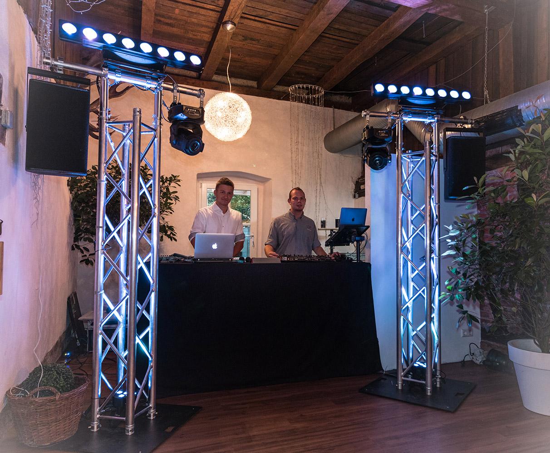Gala-Hochzeit in der Heidersbacher Mühle mit ML Events DJ-Team
