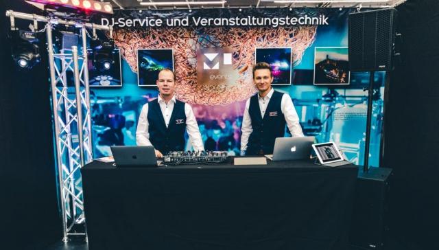 Hochzeits-DJ: Stand auf der Hochzeitsmesse Stuttgart